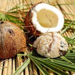 Domowe mleko kokosowe(z wiórków kokosowych).